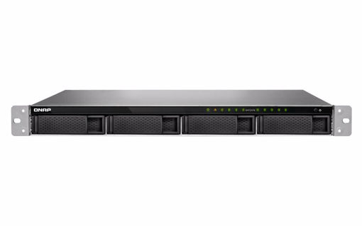 Picture of QNAP TVS-972XU Ethernet LAN Rack (1U) Black NAS