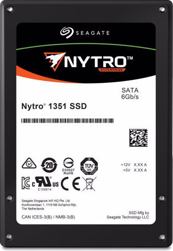 "Picture of Seagate Nytro 1351 internal solid state drive 2.5"" 480 GB Serial ATA III 3D TLC"