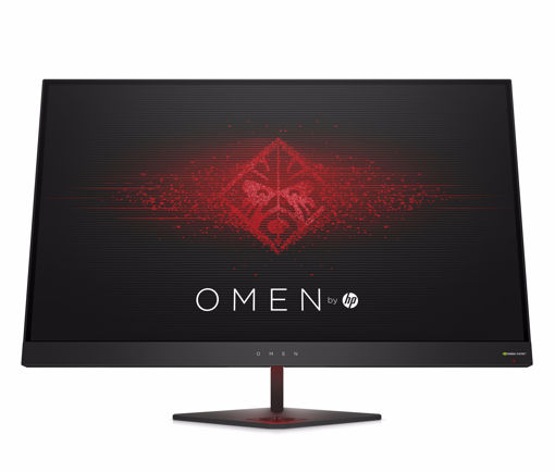 "Picture of HP OMEN 27 LED display 68.6 cm (27"") Wide Quad HD Flat Matt Black"