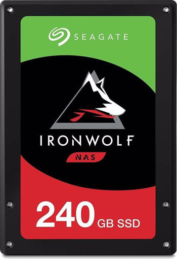 "Picture of Seagate IronWolf 110 internal solid state drive 2.5"" 240 GB Serial ATA III 3D TLC"