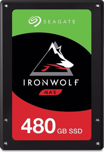 """Picture of Seagate IronWolf 110 internal solid state drive 2.5"""" 480 GB Serial ATA III 3D TLC"""