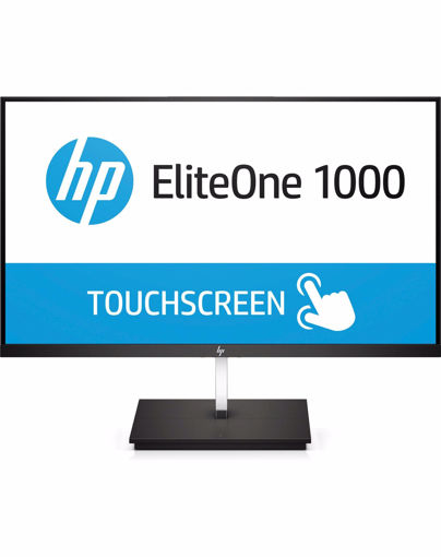 "Picture of HP EliteOne 1000 23.8-in FHD Touch LED display 60.5 cm (23.8"") Full HD Flat Matt Black"