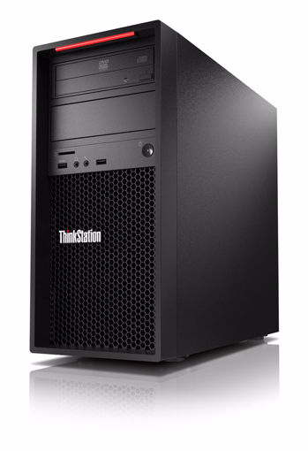 Picture of Lenovo ThinkStation P520c Intel® Xeon® W-2123 16 GB DDR4-SDRAM 2256 GB HDD+SSD Black Tower Workstation