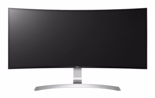 "Picture of LG 34UC99-W LED display 86.4 cm (34"") UltraWide Quad HD Curved Black,White"