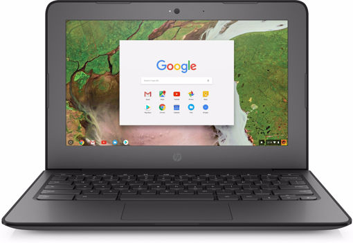 "Picture of HP Chromebook 11 G6 EE Silver 29.5 cm (11.6"") 1366 x 768 pixels Touchscreen Intel® Celeron® N3450 4 GB LPDDR4-SDRAM 32 GB eMMC"