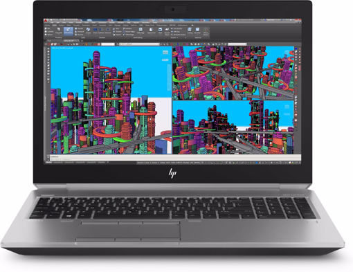 """Picture of HP ZBook 15 G5 Silver Mobile workstation 39.6 cm (15.6"""") 3840 x 2160 pixels Intel® Xeon® E-2176M 16 GB DDR4-SDRAM 512 GB SSD"""