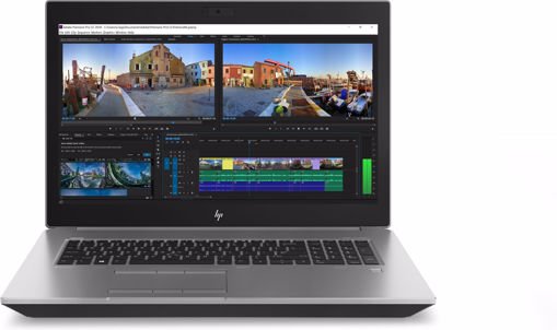 "Picture of HP ZBook 17 G5 Silver Mobile workstation 43.9 cm (17.3"") 3840 x 2160 pixels Intel® Xeon® E-2186M 32 GB DDR4-SDRAM 2000 GB HDD+SSD"